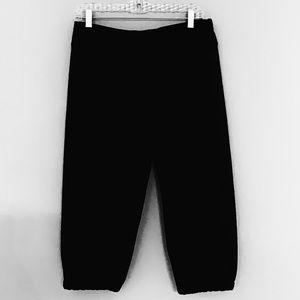 North Face Cropped Capri Women's Sweat Pants Sz M